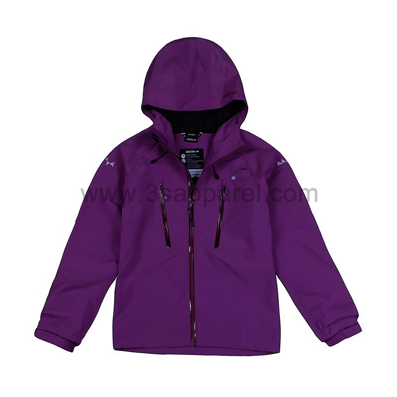 Youth waterproof jacket