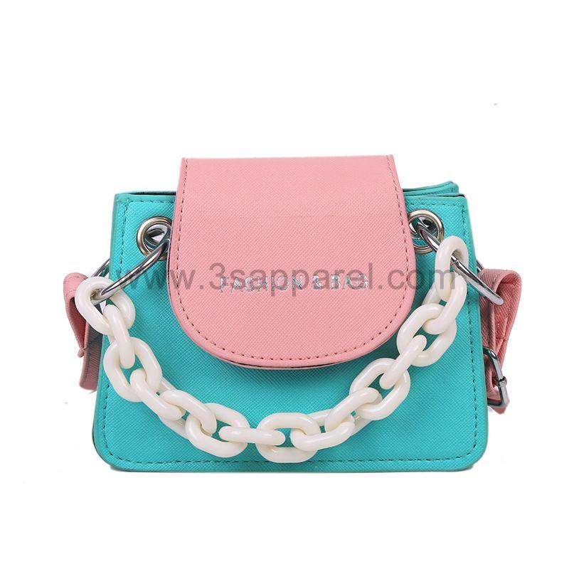 Fashion Simple Mini Square Purse Chain Designer Crossbody Bag