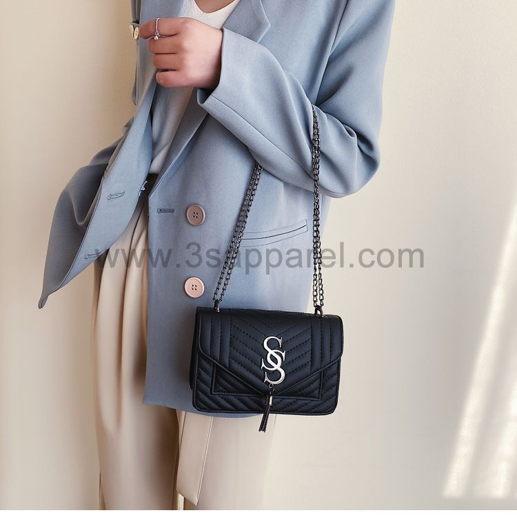 Famous Brand Designer Tassel Chain Women Shoulder Crossbody Bag
